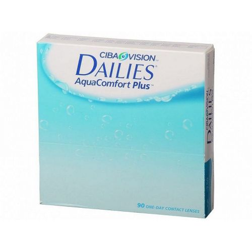 Focus Dailies aquaconfort plus 90pack