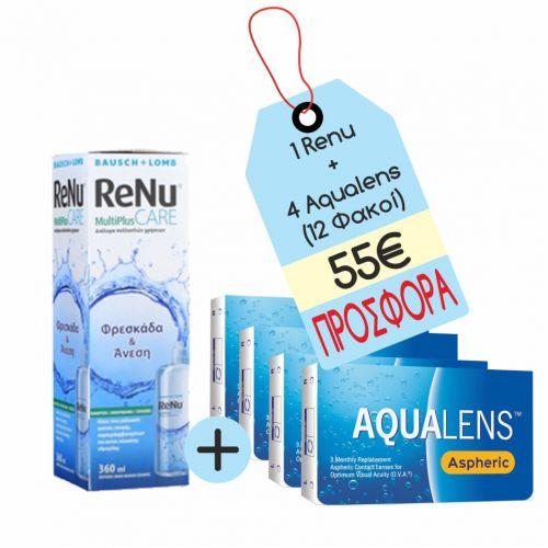 Aqualens Aspheric X4 + RENU