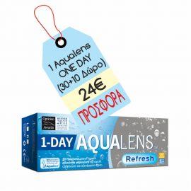 Aqualens Refresh 1 day 30+(10 δώρο)