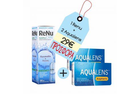 Aqualens Aspheric x 2 + Renu